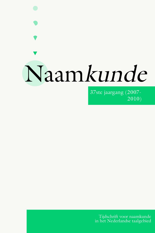 Naamkunde